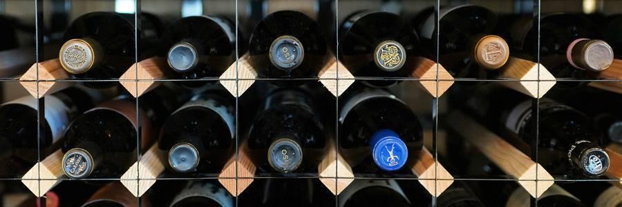 Wood and Metal Wine Racks