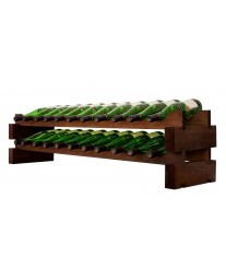 2 x 11 Bottle Modular Wine Rack