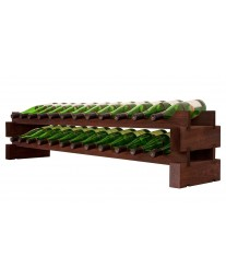 2 x 12 Bottle Modular Wine Rack