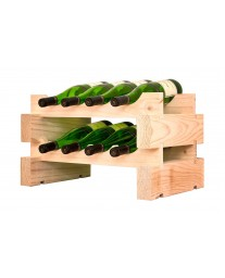 2 x 4 Bottle Modular Wine Rack