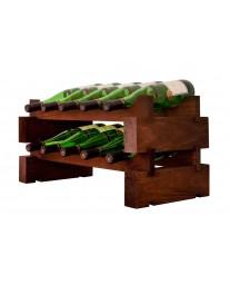 2 x 5 Bottle Modular Wine Rack