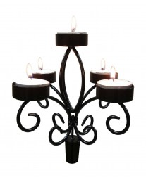 Epicureanist Wine Bottle Candelabra