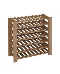 63-Bottle Swedish Wood Wine Rack (Pine)