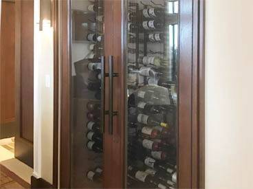 wine cabinet gallery