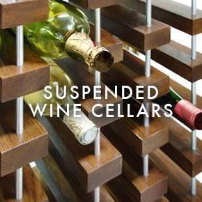 Suspended Wine Cellars