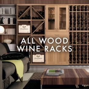 All Wood Wine Racks